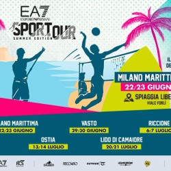 4^ tappa dell'EA7 Tour Summer Edition The Breakfast run