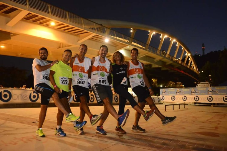 Ostia runner(s) alla Rome By Night Run